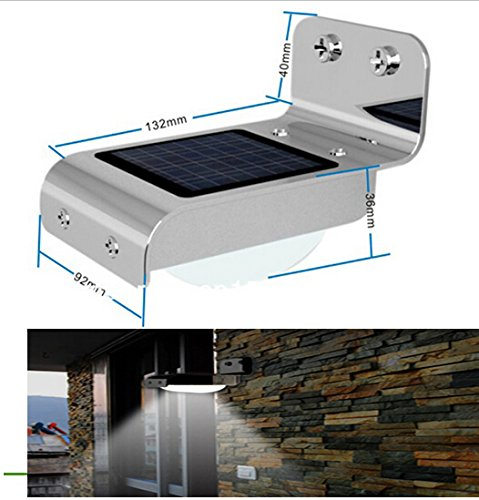 Best to Buy 3 pack 16 Bright LED - best solar powered motion security light