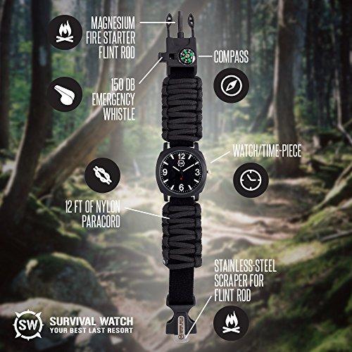survival watch® ultimate emergency tool for men women survival watch ultimate emergency tool for men women